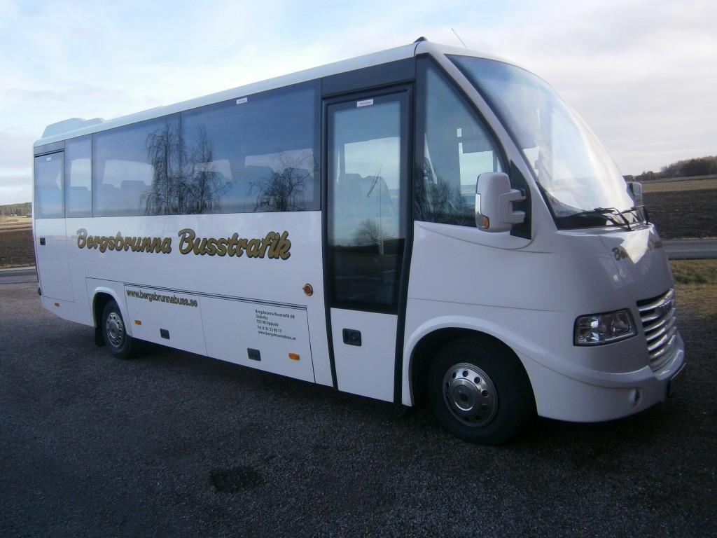 Hyr buss i Uppsala