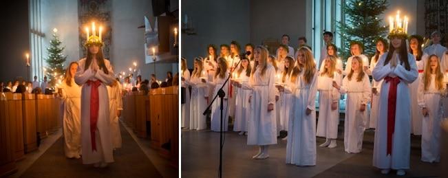 Bussresa till Lucia i Norrmalmskyrkan 6 December